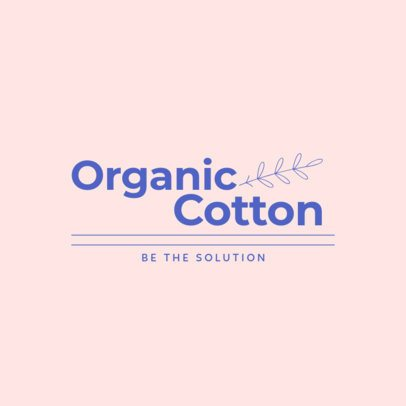 Logo Generator for an Organic Clothing Brand 3631c