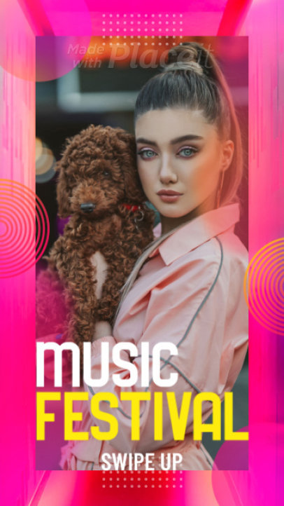Instagram Story Video Template to Promote an Upcoming Music Festival 2290