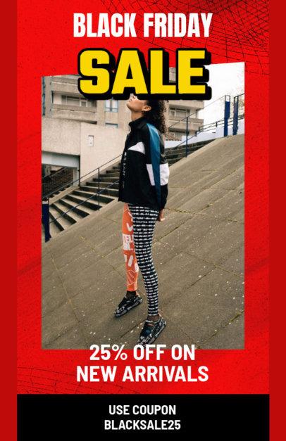 Online Flyer Maker for Black Friday Discounts 3033