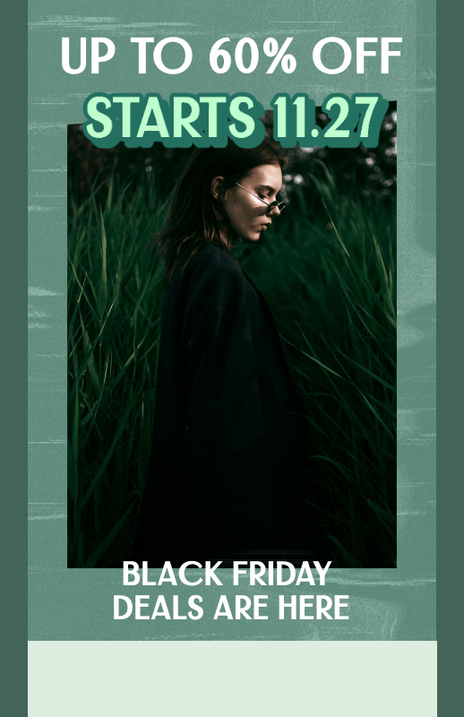 Online Flyer Template to Promote a Clothing Store's Black Friday Deals 3033e