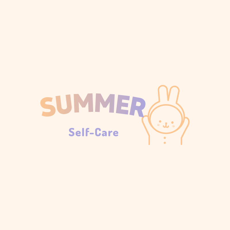 Simple Beauty Logo Template with a Cute Bunny Graphic 3730e