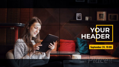 Slideshow Video Generator for a Corporate Meetup 2404-el1