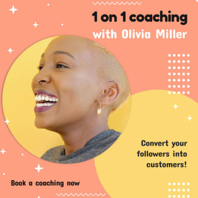 Instagram Post Maker to Announce a Coaching Session 3091e