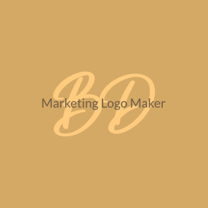 Minimal Logo Generator for a Marketing Specialist 3793g
