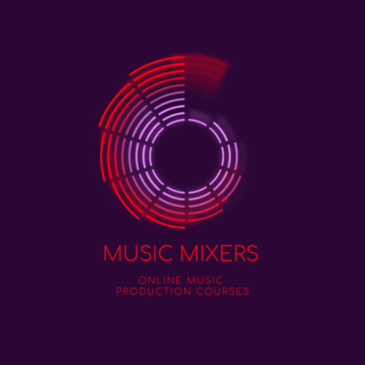 Logo Maker for Online Music Production Courses 3784c