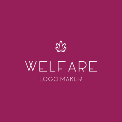 Elegant Logo Template for Health and Wellness Companies 3815