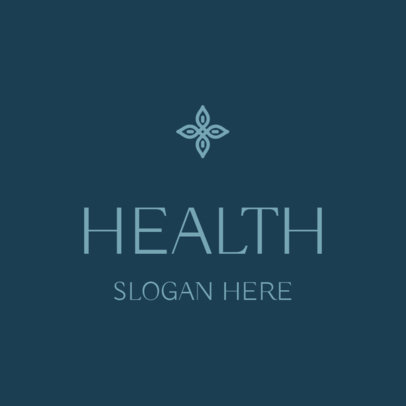 Logo Maker for a Health Professional with an Elegant Style 3815c