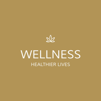 Online Logo Generator for Wellness Coach Featuring an Elegant Style 3815g