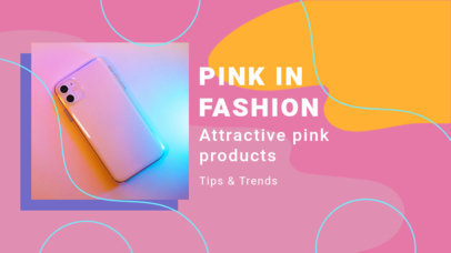 YouTube Thumbnail Generator with a Pink Theme 3142i