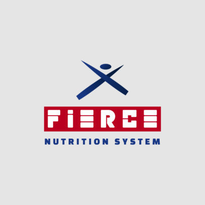 MLM Logo Creator for a Nutrition System with an Abstract Icon 3830f