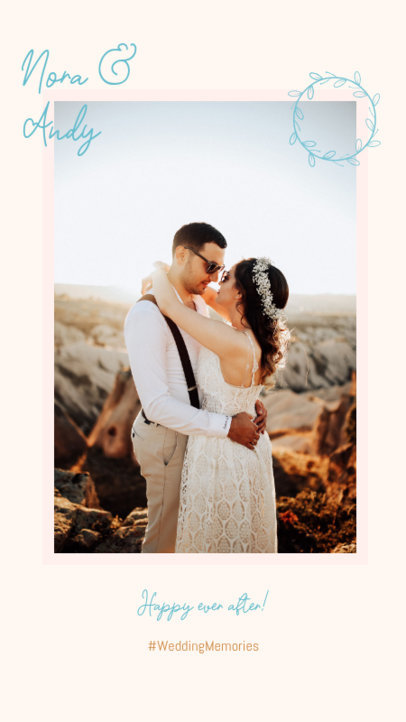 Instagram Story Generator to Share Wedding Memories 3154c