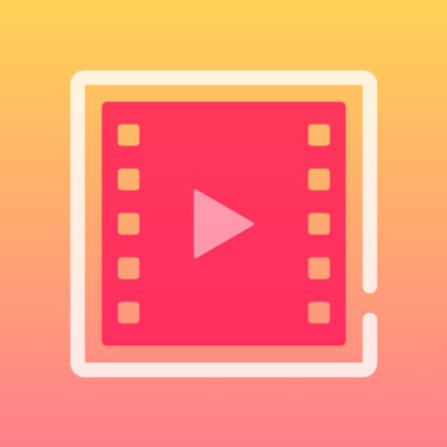 iOS App Icon Maker Featuring a Gradient Background and Simple Graphics 3180