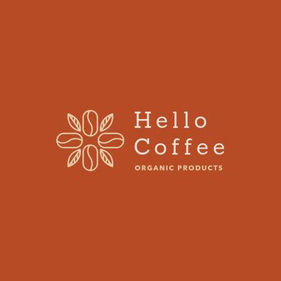 Network Marketing Logo Creator with Coffee Bean Graphics 3851b