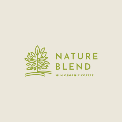 Logo Template for a Coffee-Selling MLM Company 3851c