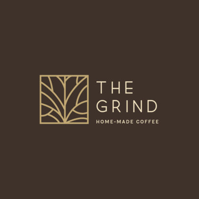 MLM-Themed Logo Generator for a Home-Made Coffee 3851d
