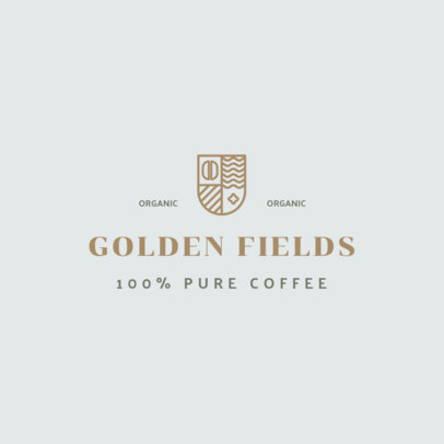 Coffee Brand Logo Maker Featuring an Elegant Aesthetic 3852a