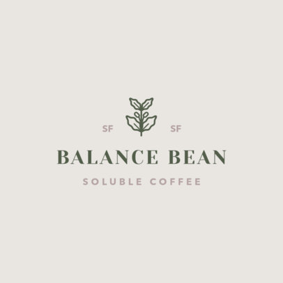 Multi-Level Marketing Logo Maker for a Soluble Coffee Brand 3852j