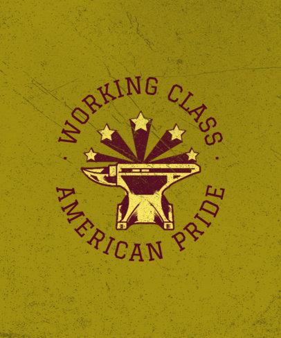 Patriotic T-Shirt Design Maker for American Unions 3179d