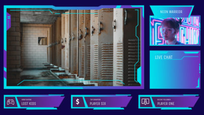 Modern Twitch Overlay Generator with Color-Gradients 3208e-el1
