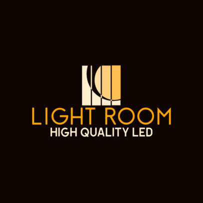 Logo Template for a LED Lighting Dropshipping Company 3868a