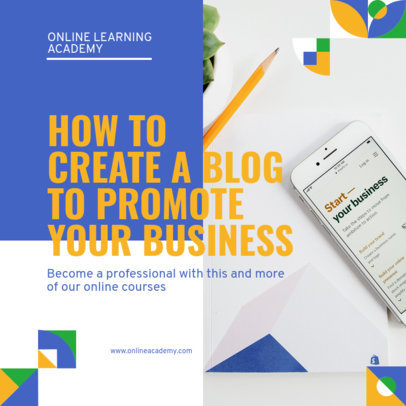 Instagram Post Creator on How to Create a Business Blog 3246c-el1