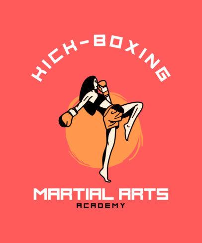 MMA Academy T-Shirt Design Generator 3203d