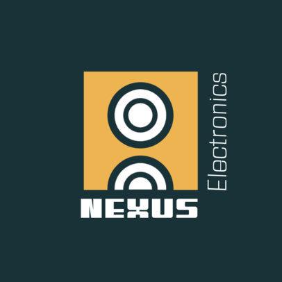 Online Logo Generator for an Electronics Company 3912j