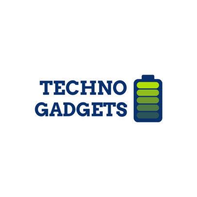 Dropshipping Logo Template for a High-Tech Gadgets Store 3911d