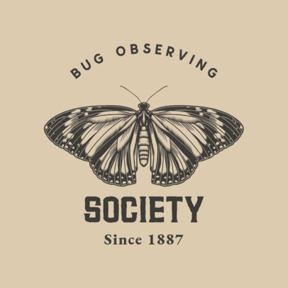Logo Generator for a Bug Observing Society 3934a