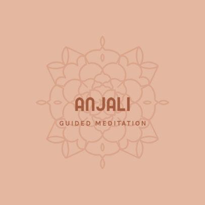 Online Logo Generator for a Guided Meditations App 3954j