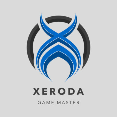 Abstract Logo Template for Professional Gamers 3352a-el1