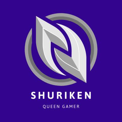 Emblem Logo Maker for Female Professional Gamers 3352c-el1