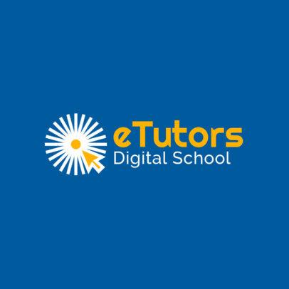 Computer-Themed Logo Creator for a Digital School 3979c