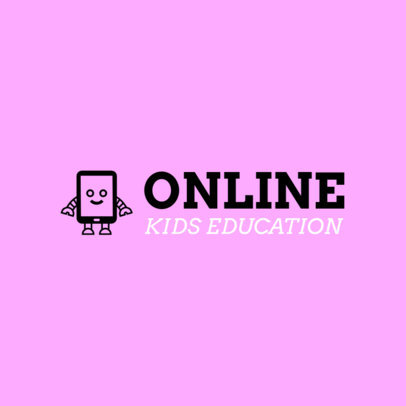 Children's Online School Logo Maker with Fun Icons 3978E
