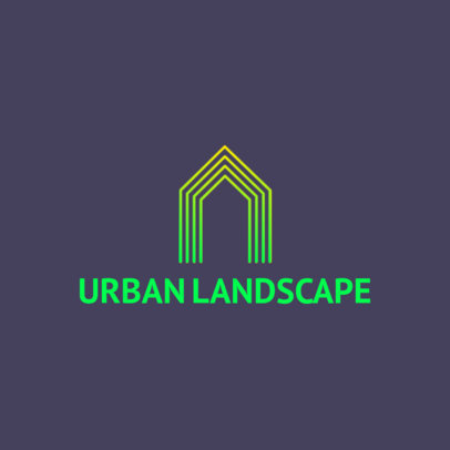 Real Estate Logo Generator Featuring an Abstract Graphic 3990b