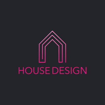 Minimalist Logo Maker for a House Design Firm 3990e