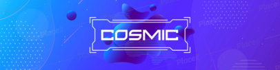Patreon Cover Design Maker Featuring Futuristic Abstract Backgrounds 3393-el1