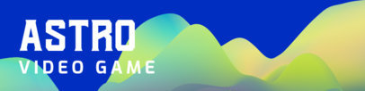 Patreon Cover Design Maker for Game Developers Featuring an Abstract Background 3397c-el1