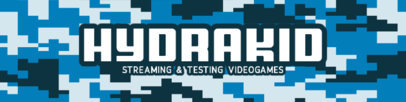 Patreon Cover Design Maker for Gaming Streamers With an 8-Bit Military Aesthetic 3385d-el1