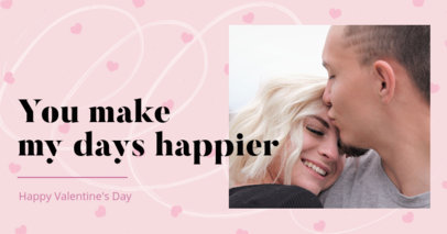 Facebook Post Template to Celebrate Valentine's Day with a Photo 3301d