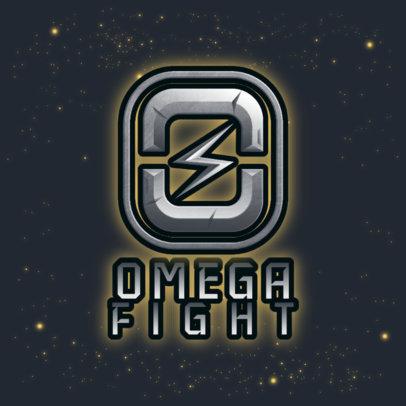 Monogram Logo Maker for Gamers Featuring a Lightning Bolt 4003a