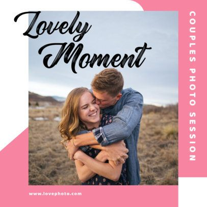 Valentine's Day Instagram Post Maker for a Romantic Photo Session 3430-el1