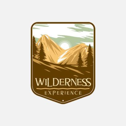 Adventurous Logo Template for Outdoor Activities Companies 4024a