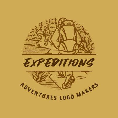 Travel Agency Logo Maker for Adventure Explorers 4020e