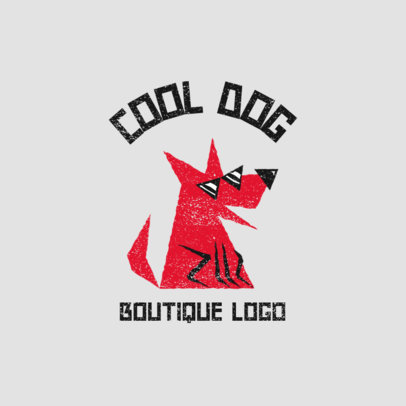 Clothing Brand Logo Maker with Flat Colorful Characters 4045