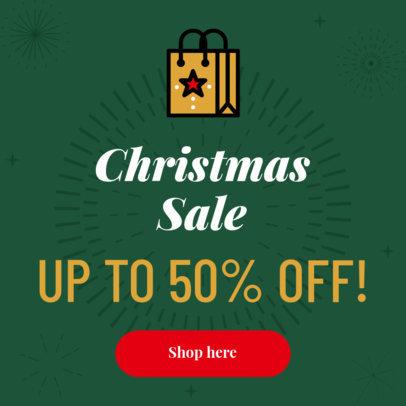 Christmas Day Sale Banner Maker 875-16614e
