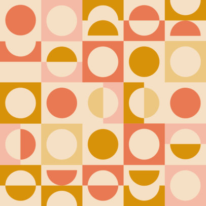 Print Pattern Creator with Seamless Circles and Squares 3363e
