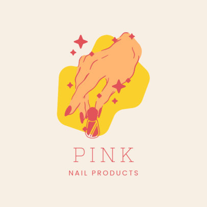 Logo Maker for a Dropshipping Nail Care Company 4043f