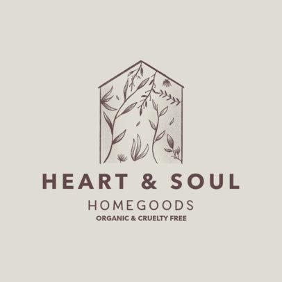 Logo Maker for an Organic Home Goods Company 4062