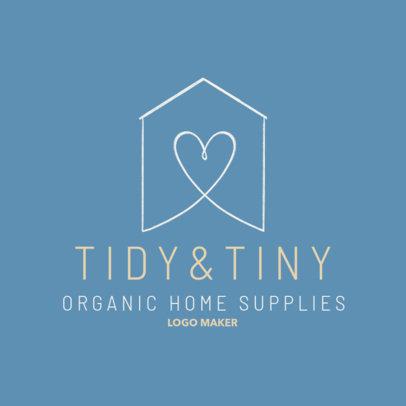 Logo Maker for an Organic Home Supplies Store 4062a